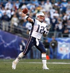 Brady passes to elf