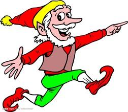 Christmas elf touchdown