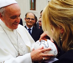 Pope Francis and the NFL